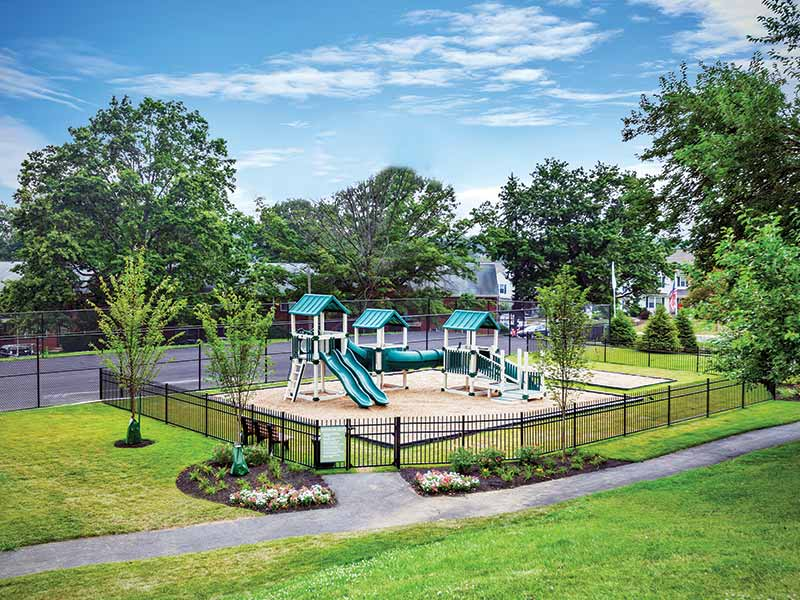 The Bradford Apartment Complex Playground