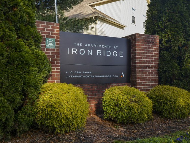 April 30, 2018: Apartments at Iron Ridge Becomes AION's Second Maryland Asset