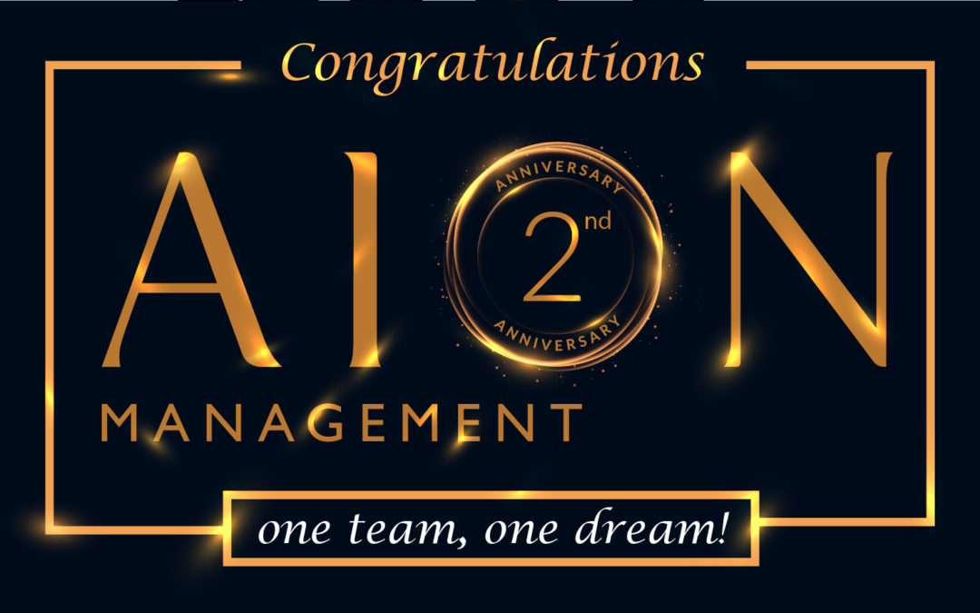 Happy Anniversary AION Management!