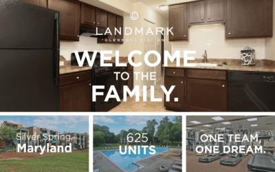 AION Management would like to welcome Landmark at Glenmont Station in Silver Spring