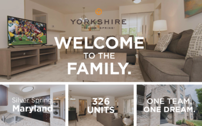AION Welcomes Yorkshire Apartments