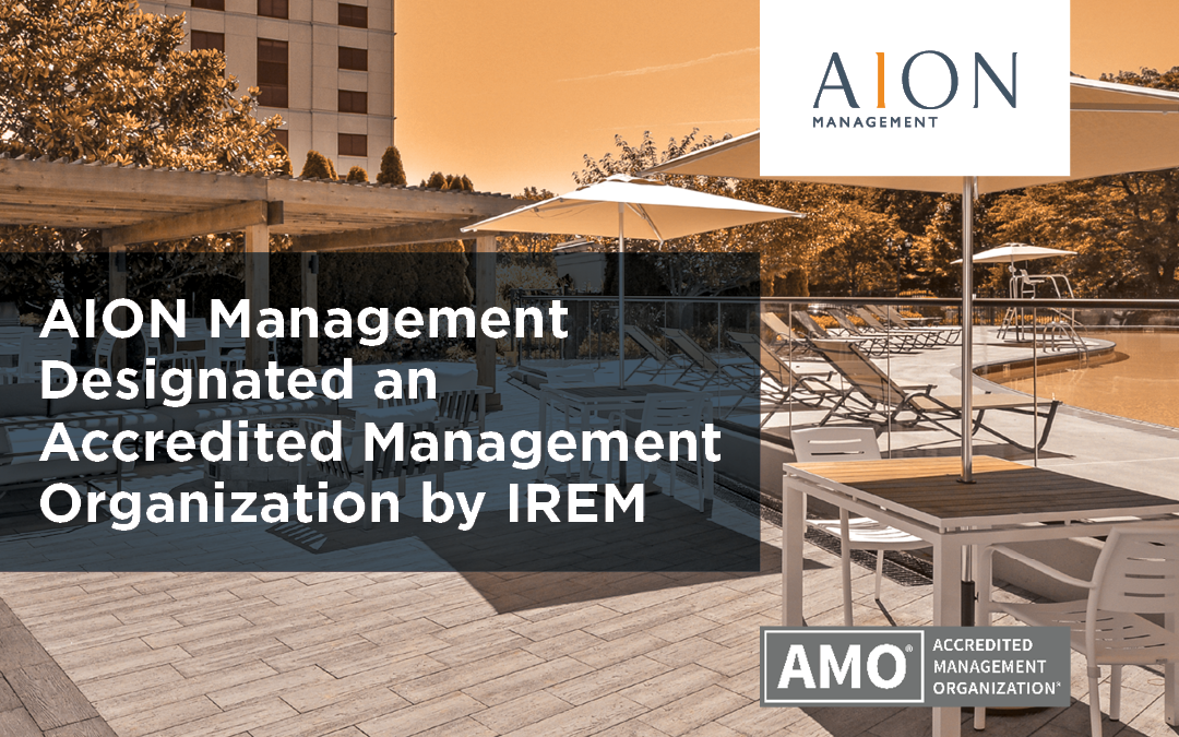AION Management awarded prestigious AMO® accreditation by IREM®