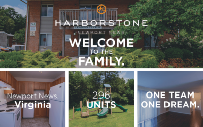 AION Welcomes Harborstone Apartments