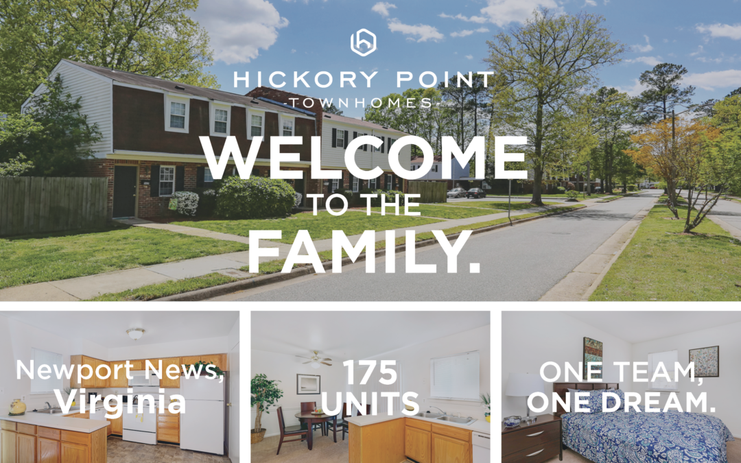 AION Management welcomes Hickory Point Townhomes