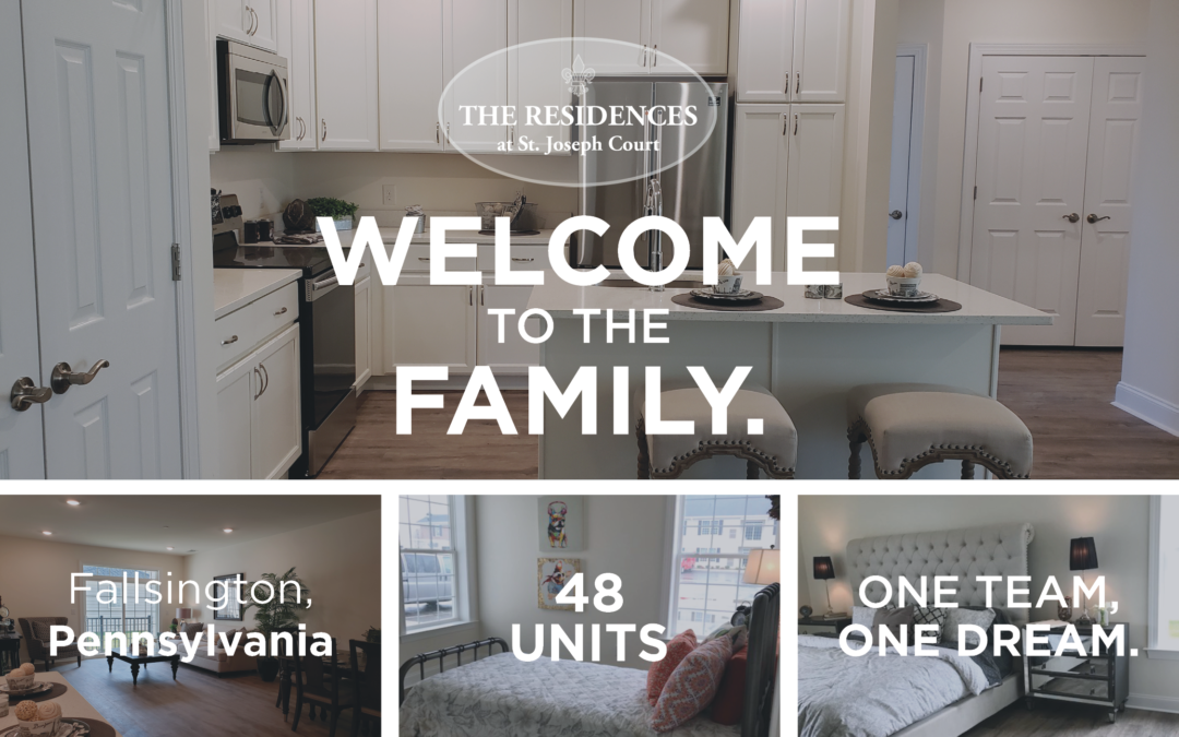 AION would like to welcome The Residences at St. Joseph Court