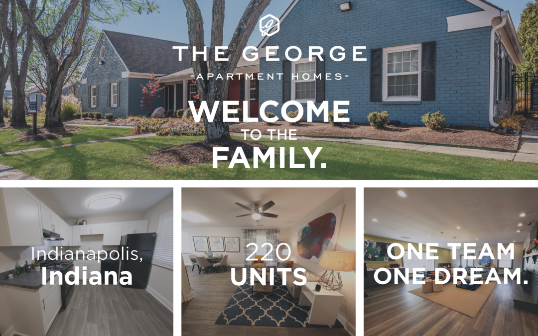 AION Management Welcomes The George Apartment Homes